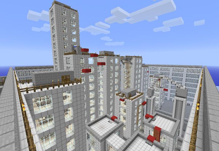 Скачать карту город на майнкрафт 1.5.2